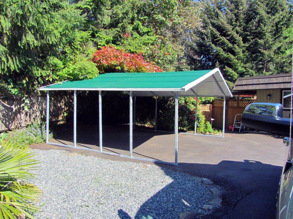 Steel Carport Building by CDN Buildings