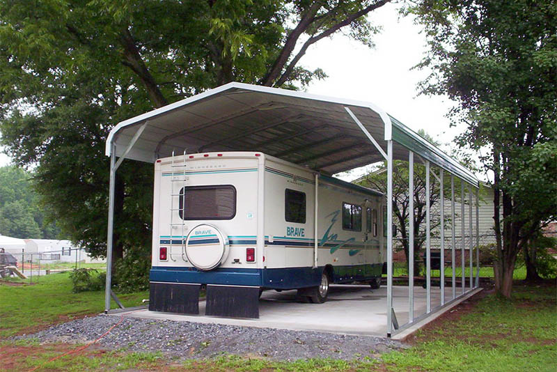 Steel RV Shelter Building