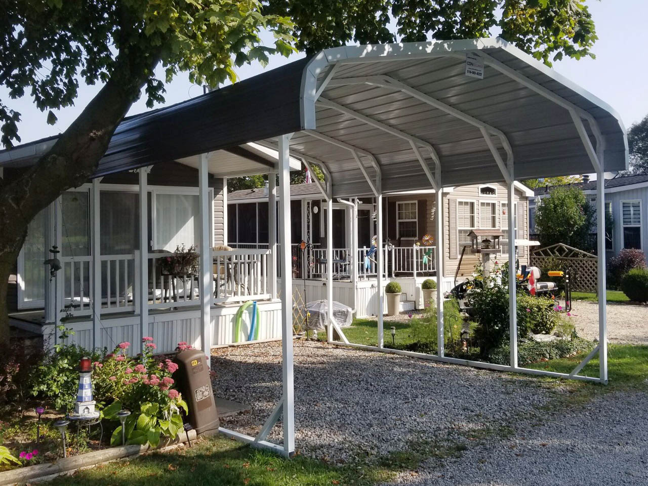 Steel RV Shelter Building - CDN Buildings