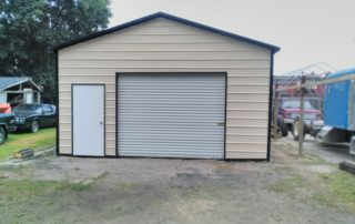 A-Frame Style Steel Carport - Brantford, Ontario