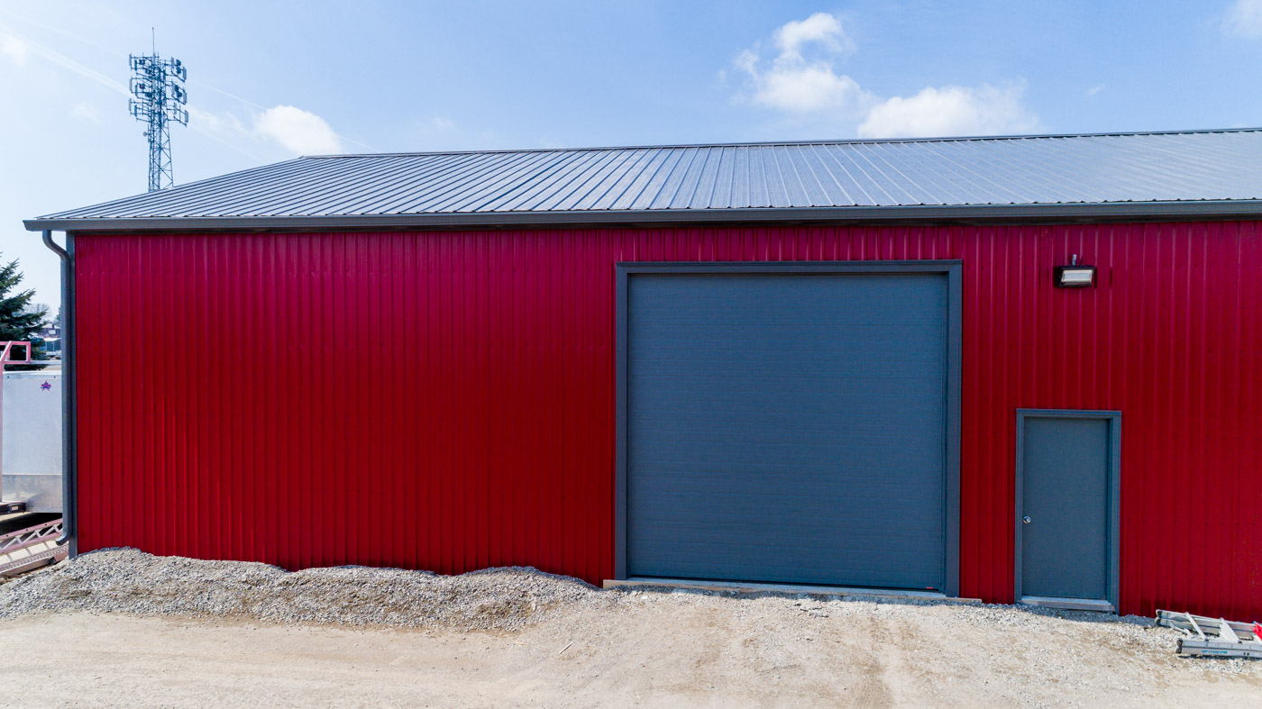 Large Steel Pole Barn in London, Ontario - CDN Buildings