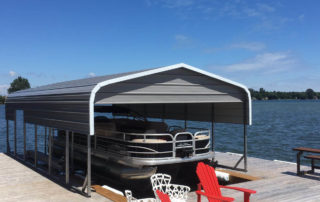 Standard Style Steel Boat Dock - Bainsville, Ontario