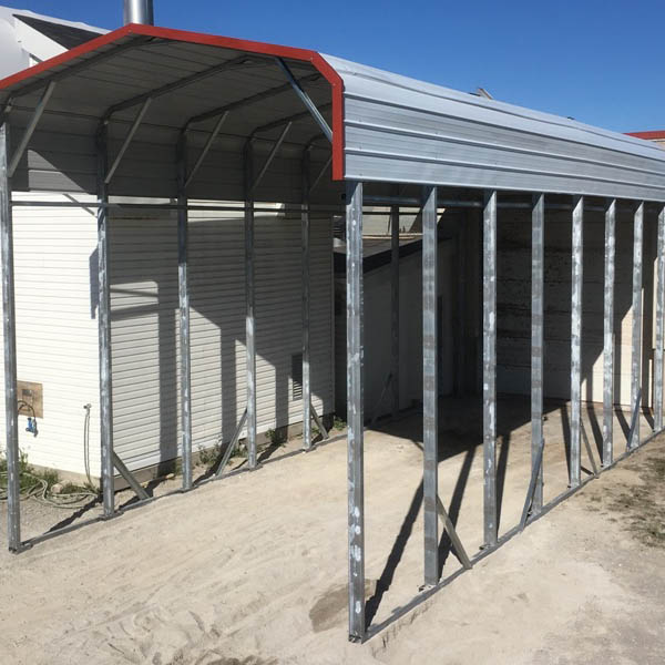 Standard Style Steel Carport - Bradford, Ontario