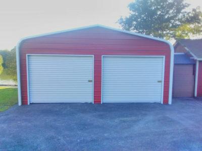 Standard Style Steel Carport - Dunnville, Ontario