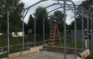 Standard Style Steel Carport - Grand Bend, Ontario