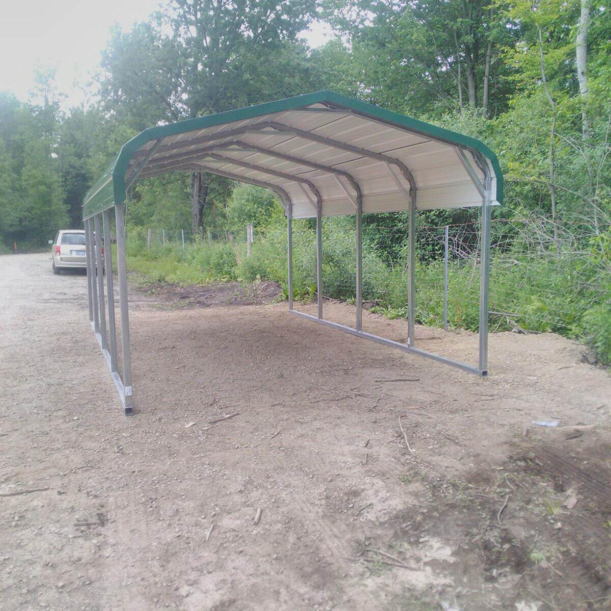 Standard Style Steel Carport - London, Ontario