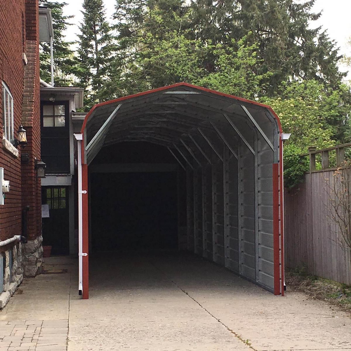 Standard Style Steel Carport - Stratford, Ontario