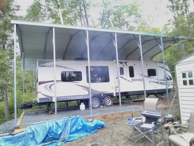 Standard Style Steel Carport - Sudbury, Ontario