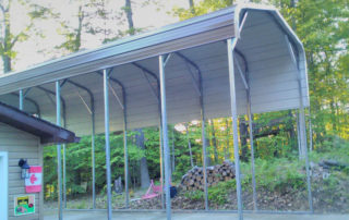 Standard Style Steel RV Shelter - Sharbot Lake, Ontario