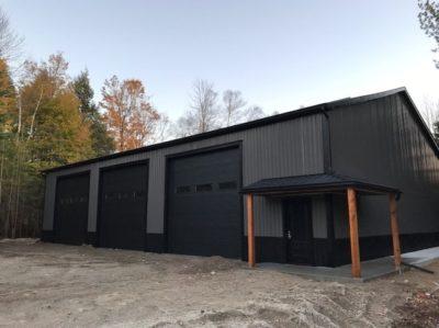Steel Building - Erin, Ontario