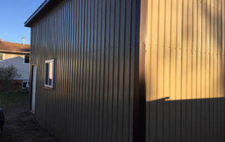 Steel Building - Waterford, Ontario