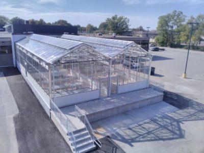Steel Greenhouse - Niagara Falls, Ontario