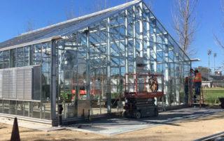 Steel Greenhouse - Northridge California , USA