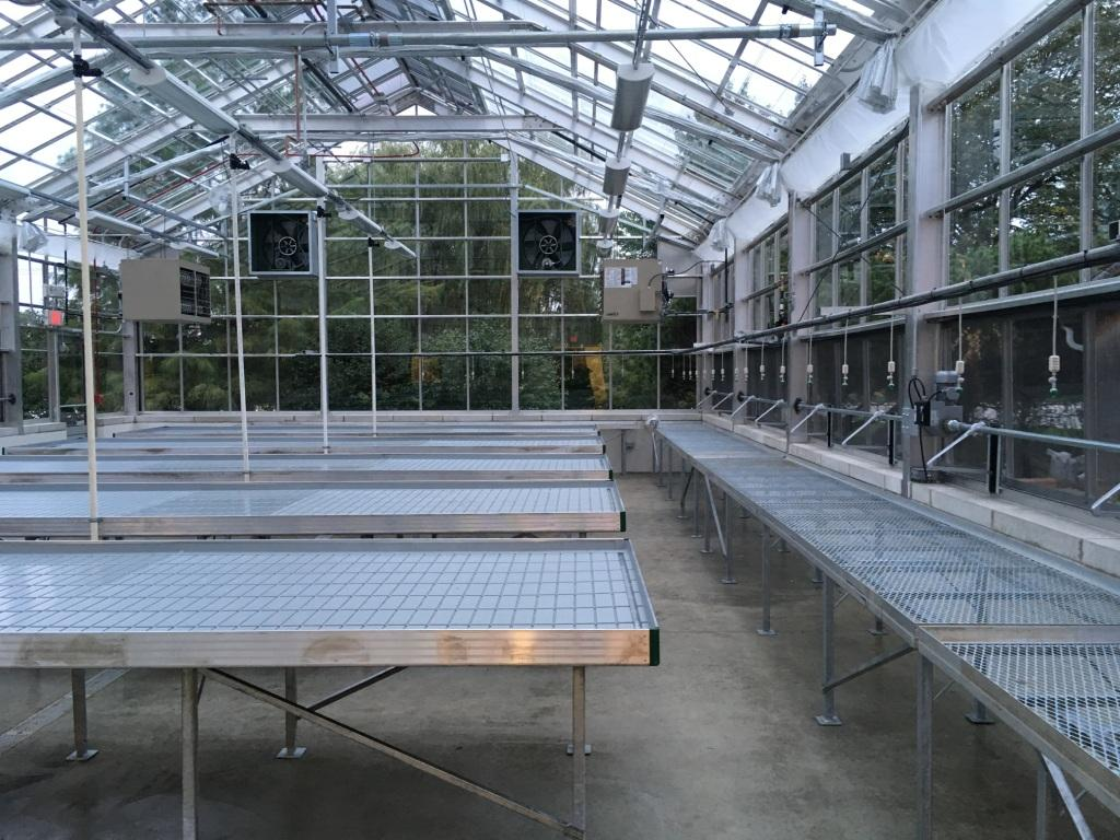 Steel Greenhouse in River Grove IL, USA