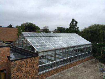 Steel Greenhouse in River Grove IL, USA