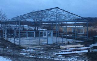 Steel Pole Barn - Newmarket, Ontario