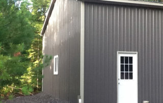 Steel Pole Barn in Sequin, Ontario