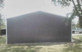 Steel Pole Barn in Simcoe, Ontario