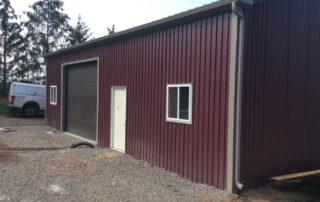 Steel Pole Barn in Vineland, Ontario