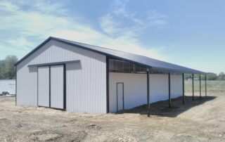 Steel Pole Barn in Wilsonville, Ontario
